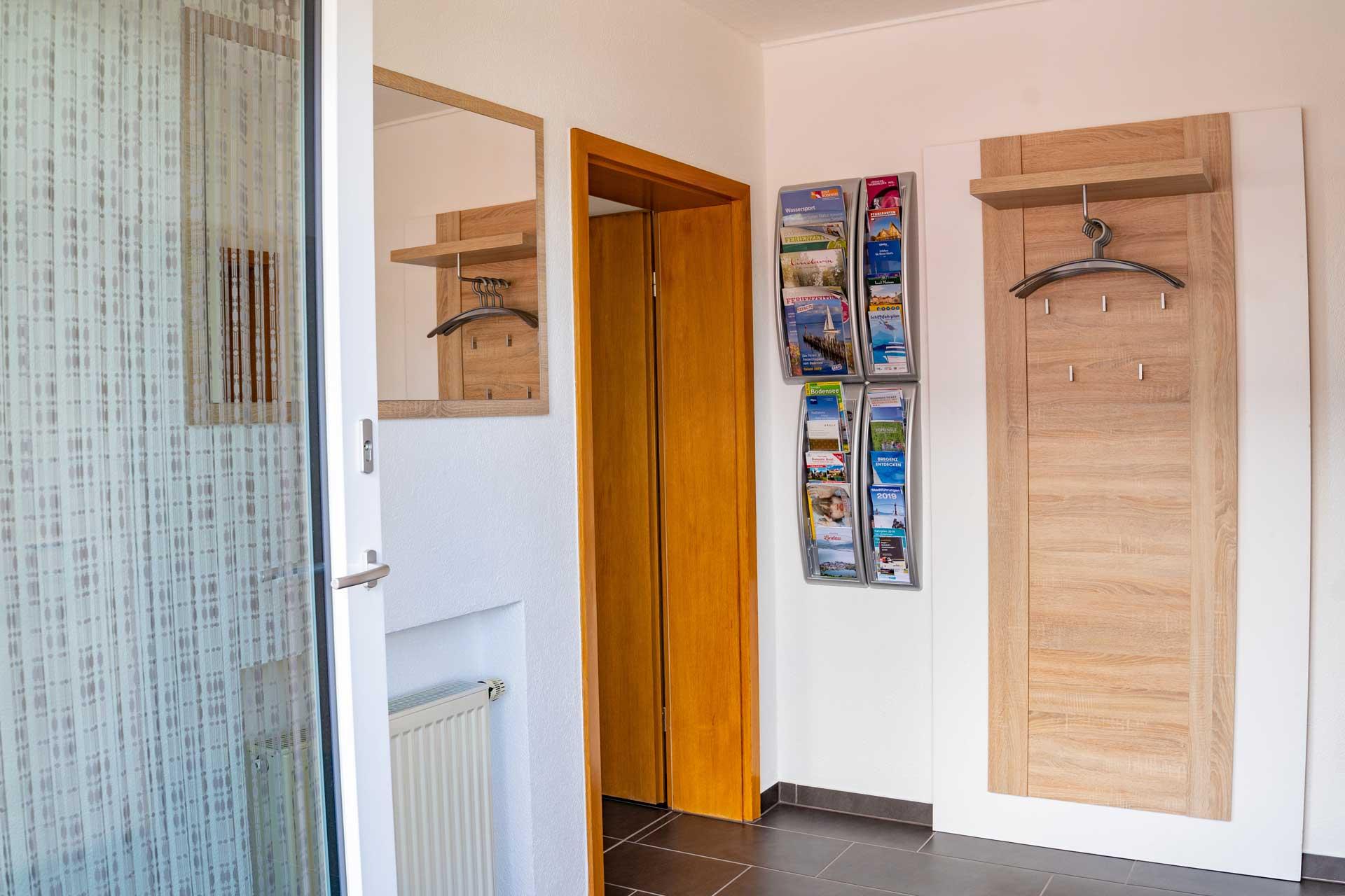 Ferienwohnung Bodensee Eingangsbereich