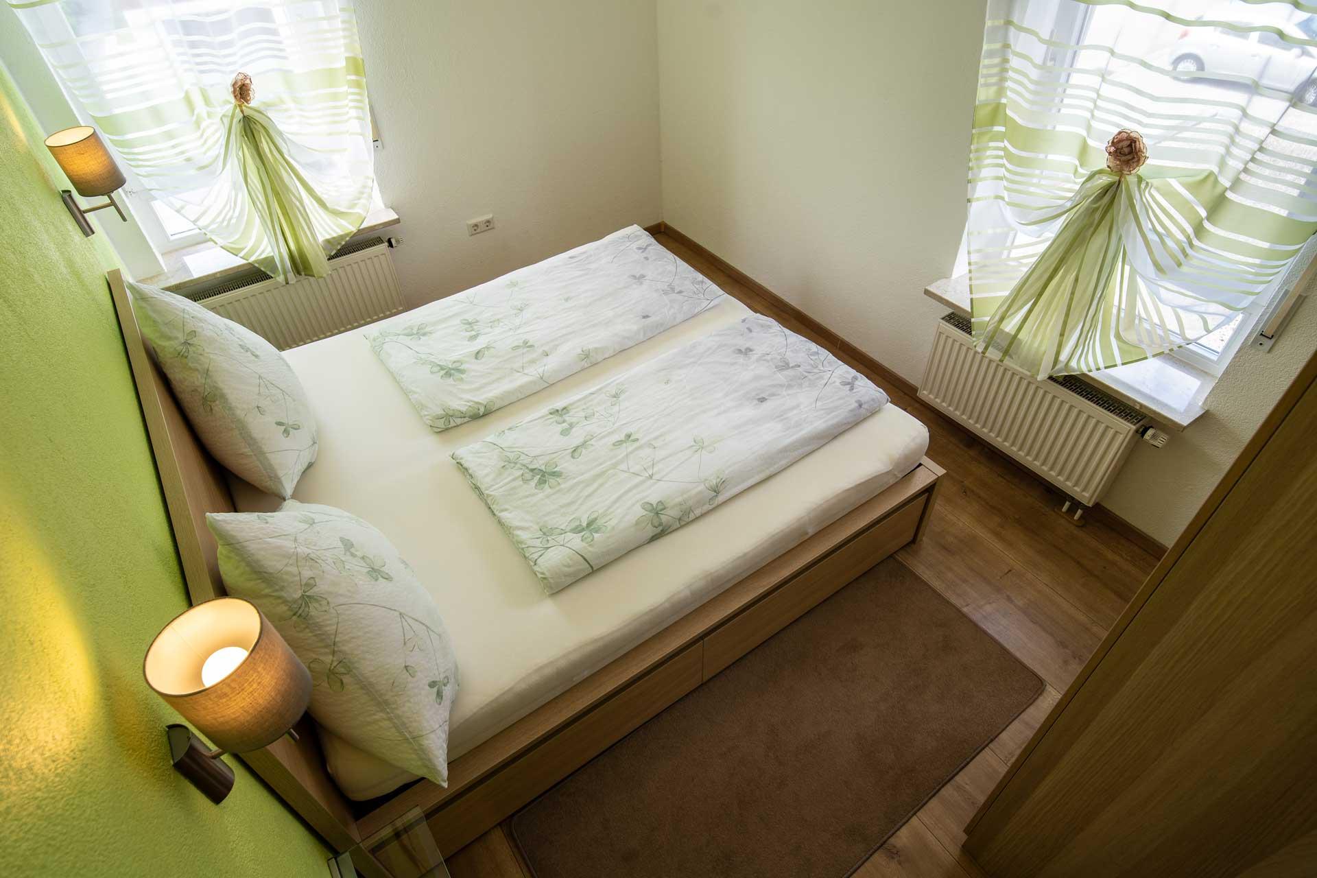 Ferienwohnung Bodensee Schlafzimmer heroshot