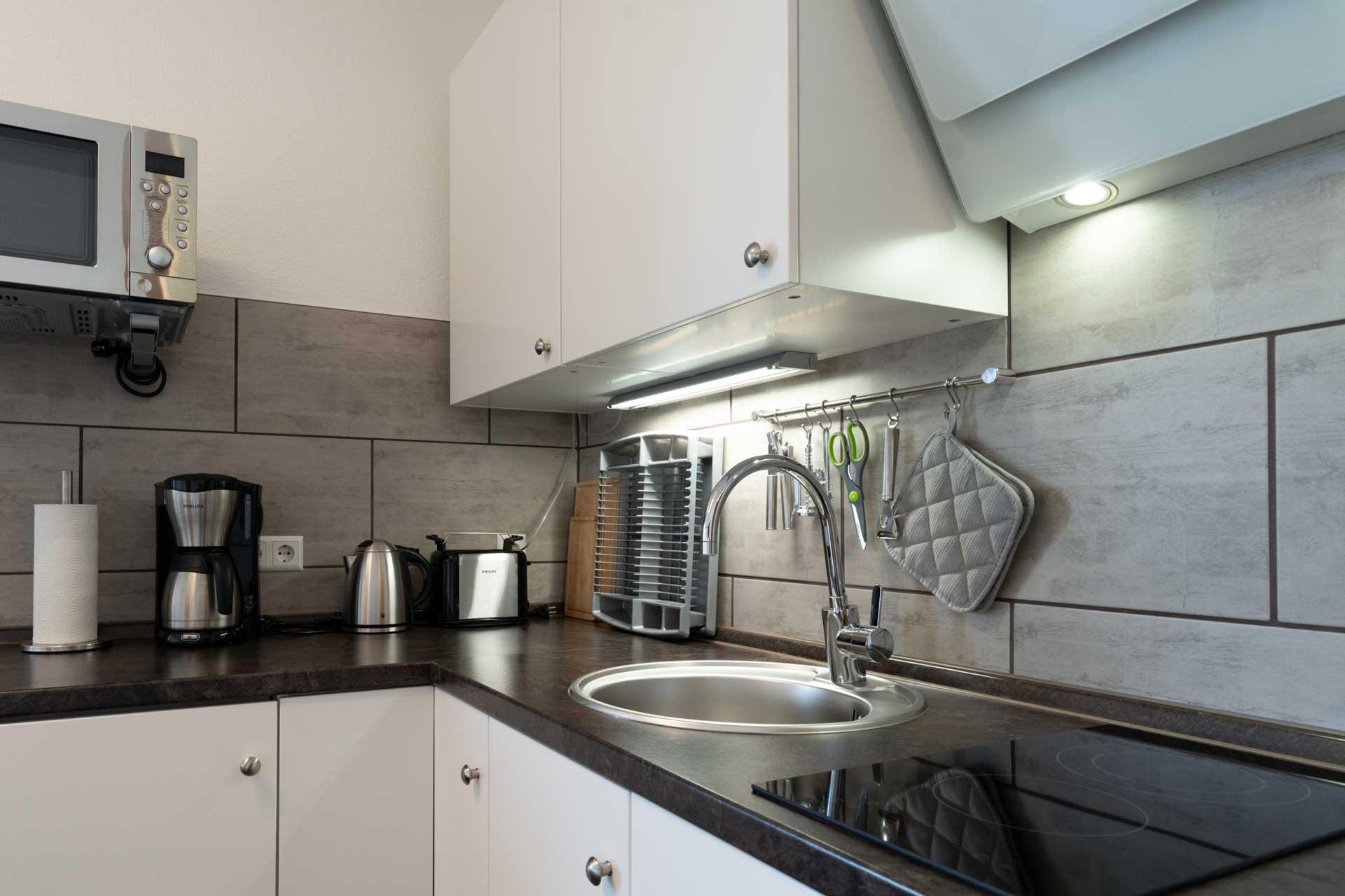 Ferienwohnung Bodensee Küche