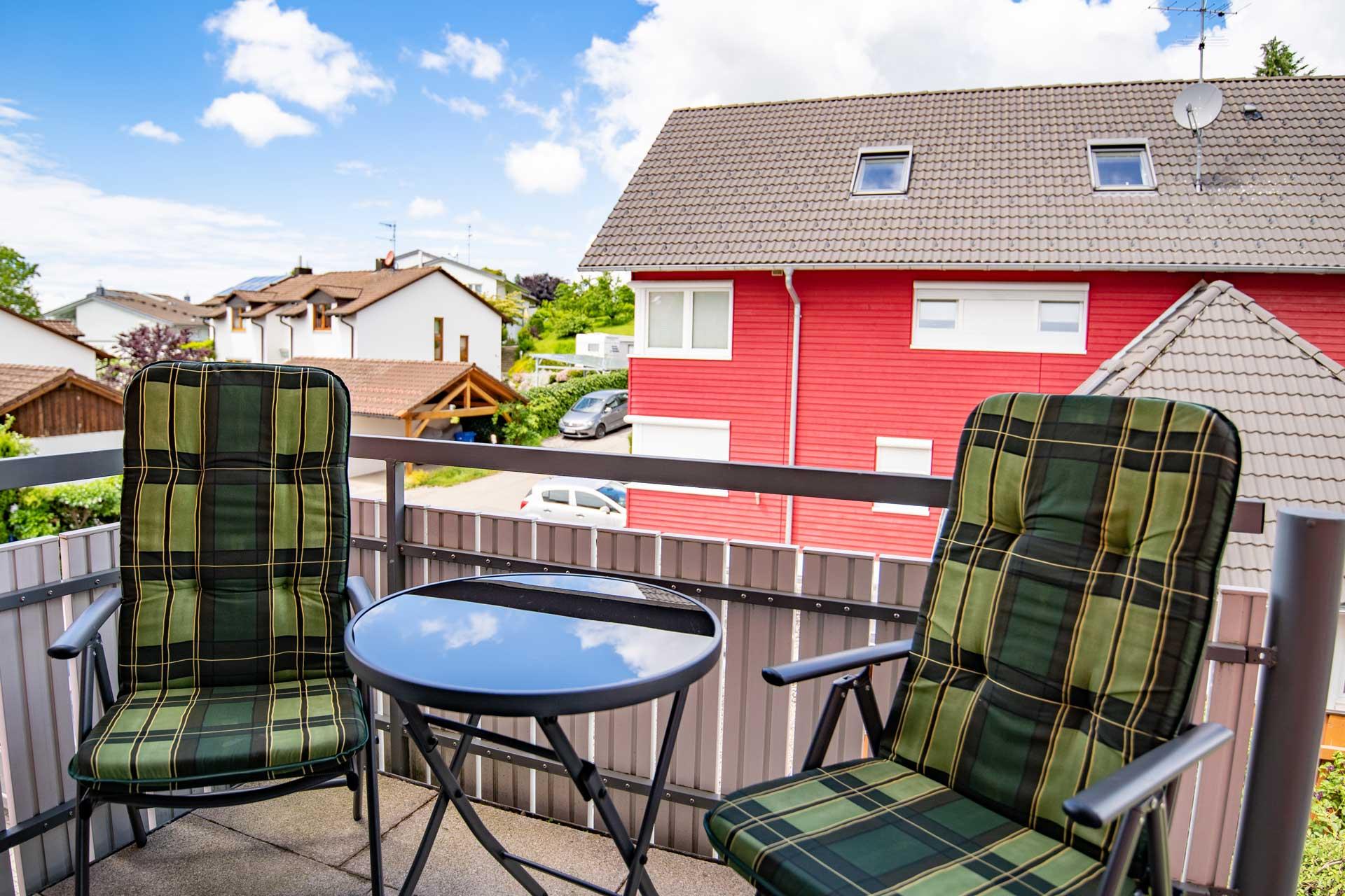 Ferienwohnung Bodensee Balkon