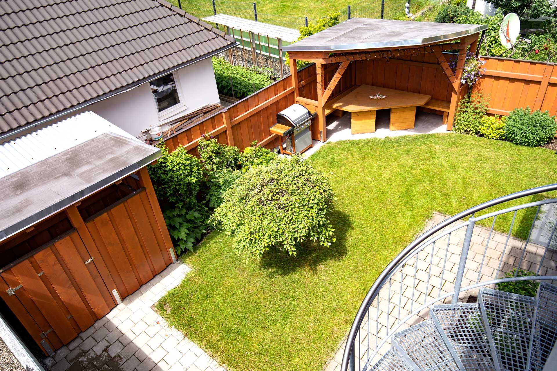 Ferienwohnung Bodensee Grill Bereich