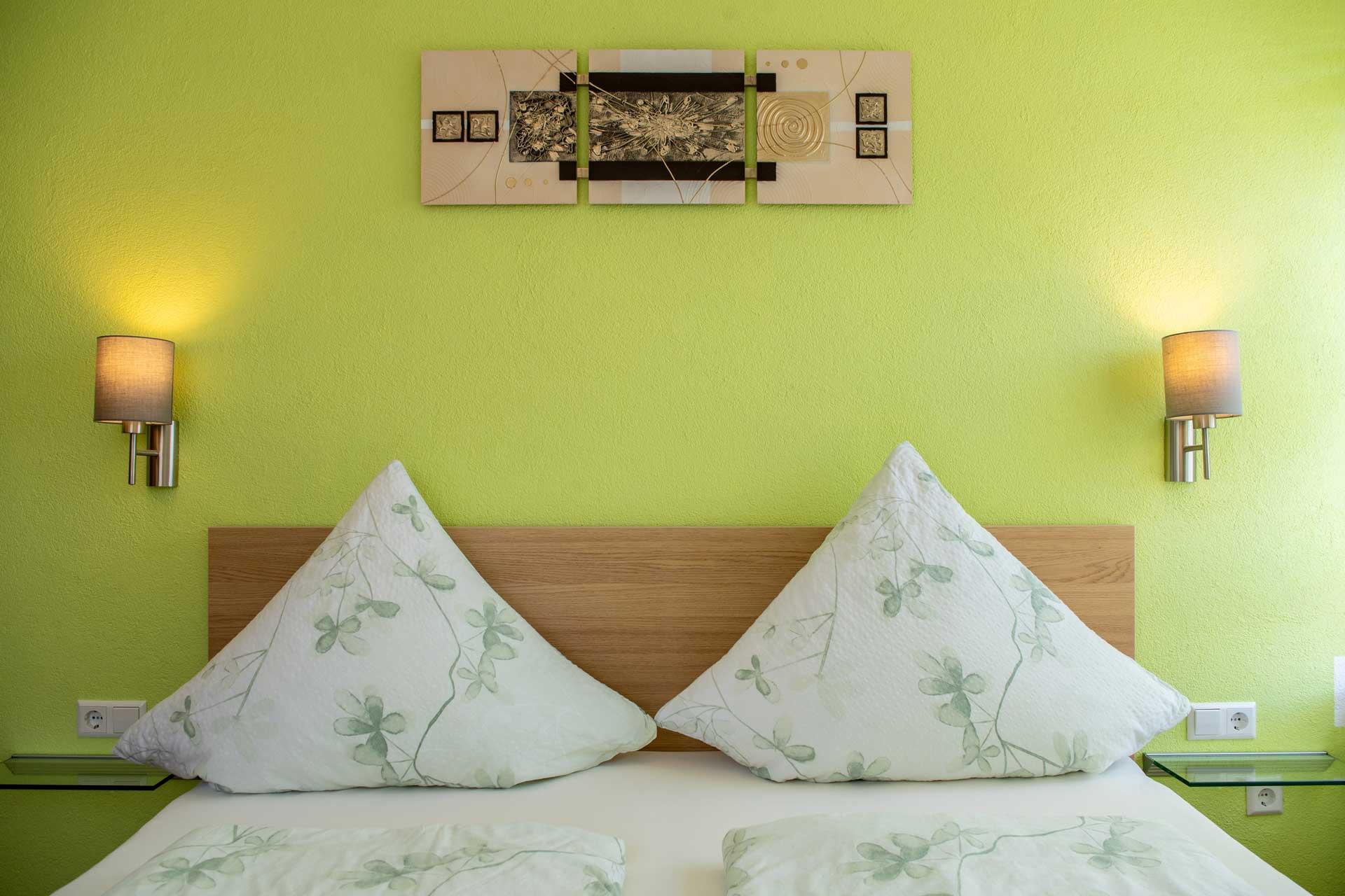 Ferienwohnung Bodensee das Schlaffzimmer